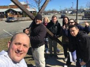 Holy Saturday 2018 - Walking the Cross 1