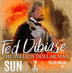 """Million Dollar Man"" to Visit Sound of Heaven Church 9"