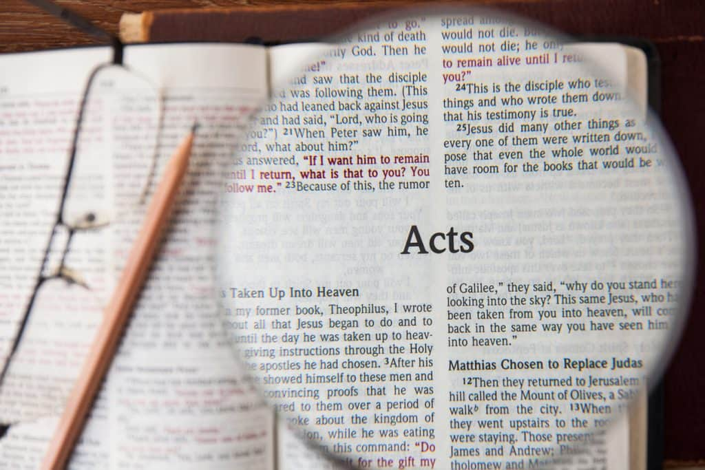 What is an Apostolic Church Book of Acts