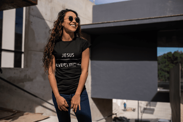"Jesus ""Over"" Everything Tee 1"
