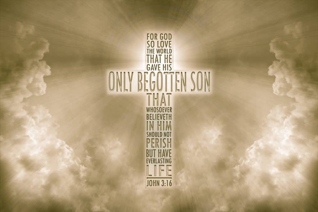 Sayings of Jesus pic John 3:16