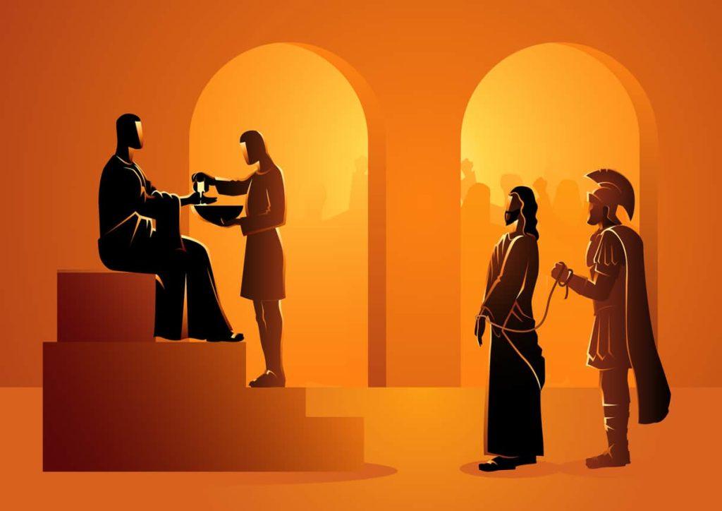 Barabbas and Jesus Trial