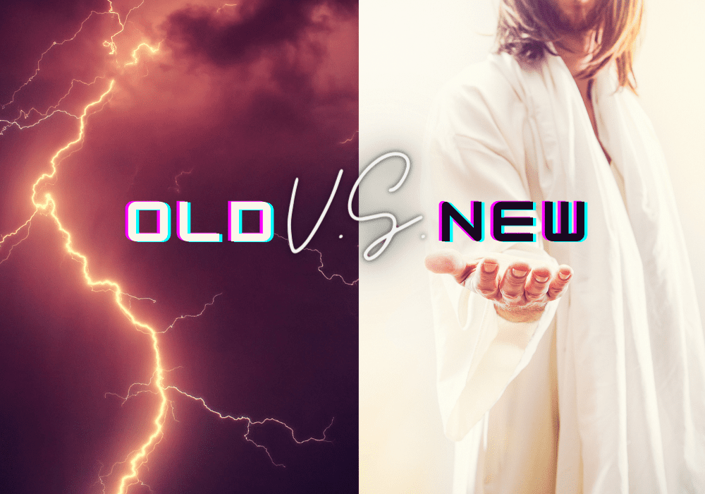 Old testament God vs new testament god