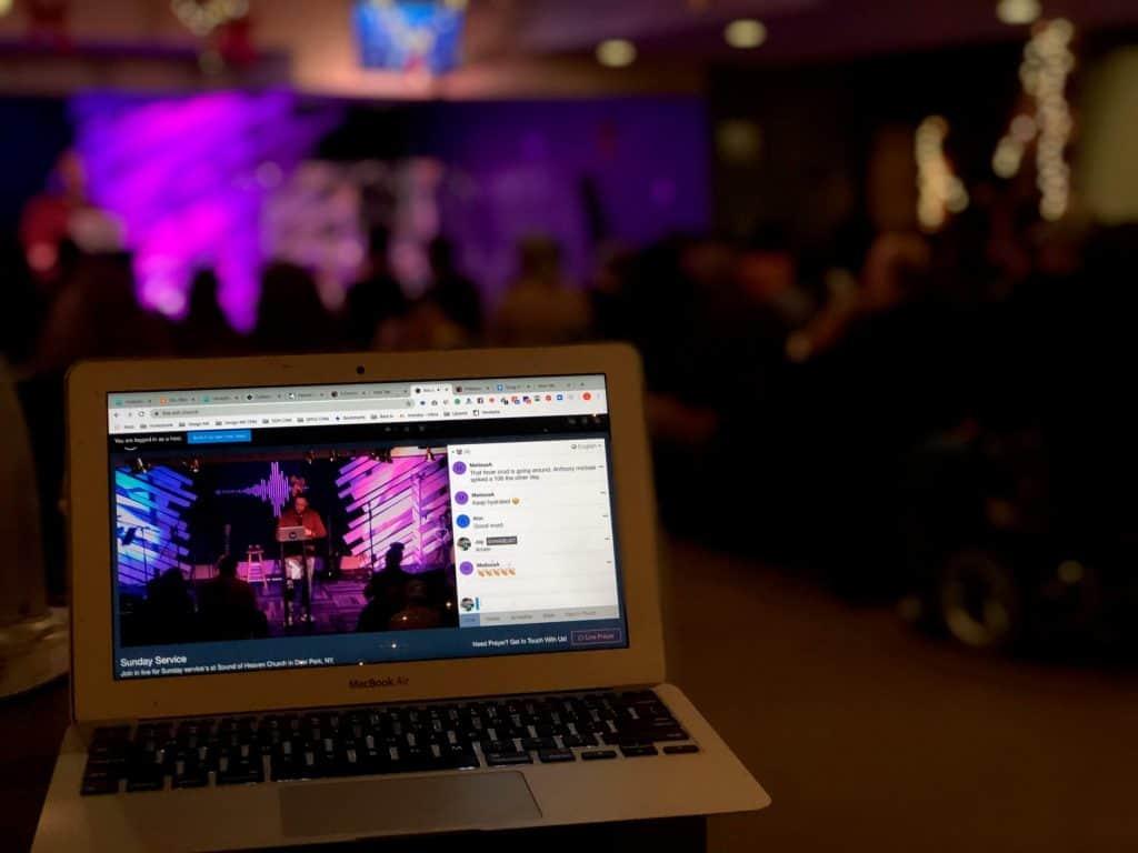 attending church online main